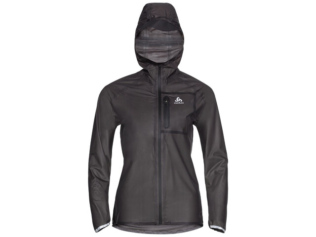 Odlo Zeroweight Dual Dry Water Proof Jacket Women, zwart